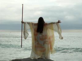 Sky Sorceress 5 by AilinStock
