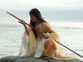 Sky Sorceress 6 by AilinStock