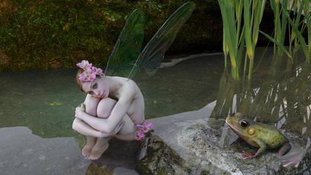 Pond Fairy by 3Danim8or