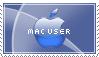 Mac User Stamp by redhedinsanity