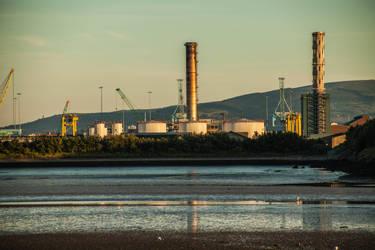 Industrial Plant by DawnAllynnStock