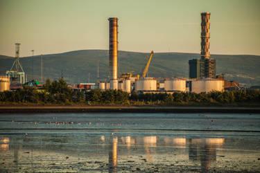 Industrial Plant 2 by DawnAllynnStock