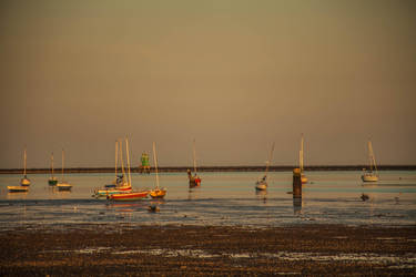 Boats in the water 3 by DawnAllynnStock