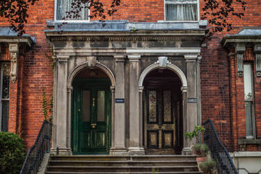 Two Doors by DawnAllynnStock