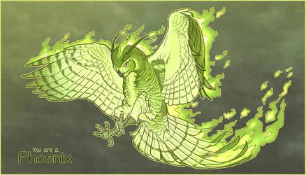 YMC - Phoenix by LhuneArt