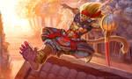 Sun Wukong by LhuneArt