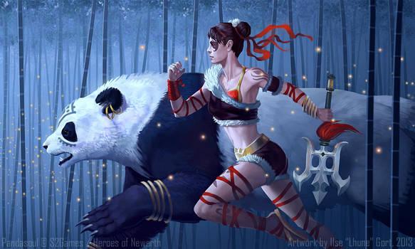 Pandasoul by LhuneArt