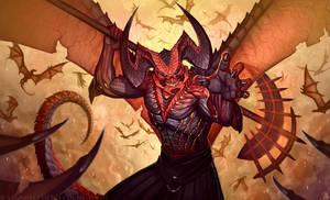 El Diablo by LhuneArt