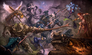Rift Wars by LhuneArt