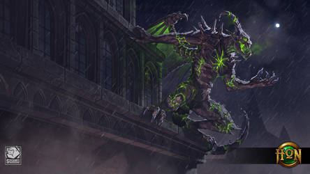 Gargoyle Blood Hunter by LhuneArt