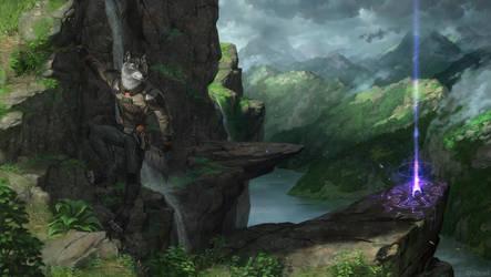 Climb by LhuneArt