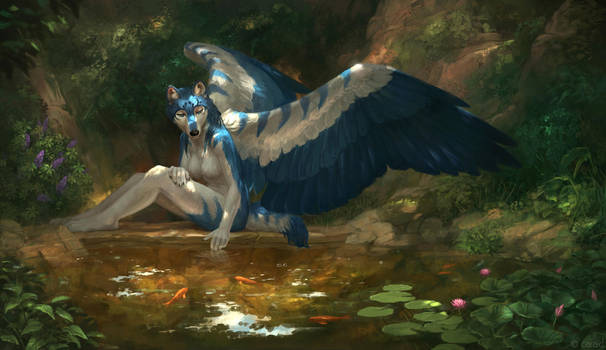 Tranquil by LhuneArt