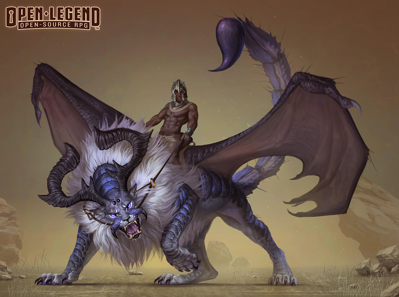 The Beastmaster by LhuneArt