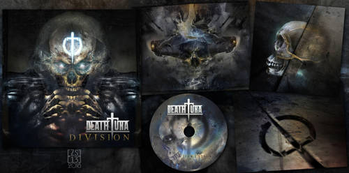 DEATHTURA - DIVISION - COVER DESIGN by zero-scarecrow13