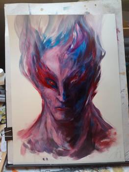 demonoid portrait by zero-scarecrow13