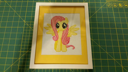 Fluttershy Cross Stitch by snitcheyes411