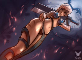 lightningshadow18 OC revy xx by Foxilumi