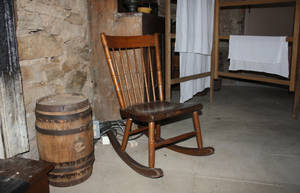 vintage rocking chair by aila-art