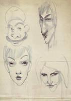 some more sketches by FaniArgirova