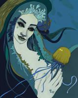 jellyfish by FaniArgirova