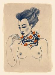 Love flowers by FaniArgirova
