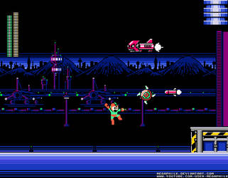 JetMan Stage 'Screenshot' by MegaPhilX