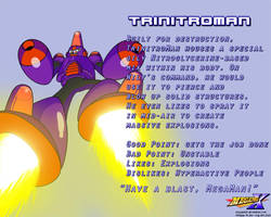 TrinitroMan Data Card by MegaPhilX