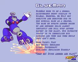 GlueMan Data Card by MegaPhilX