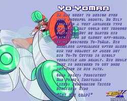 Yo-YoMan Data Card by MegaPhilX