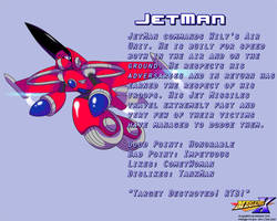 JetMan Data Card by MegaPhilX