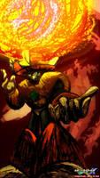 SolarMan Inferno by MegaPhilX