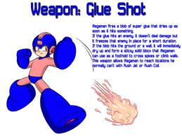 Weapon: Glue Shot by MegaPhilX