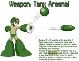 Weapon: Tank Arsenal by MegaPhilX