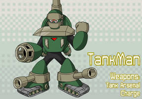 TankMan by MegaPhilX