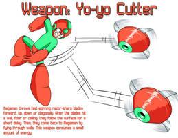 Weapon: Yo-yo Cutter by MegaPhilX