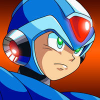 X Avatar (From Megaman X4) by MegaPhilX