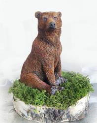 Bear  Sculpture by stargate4ever23