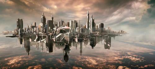 Cloud City by aksu