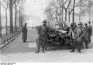 2. Marine Brigade Ehrhardt near Brandenburg Gate by julius1880