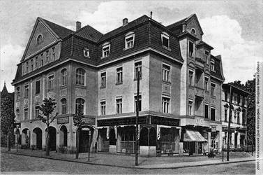 Konigsberg- building on Albrecht Strasse by julius1880