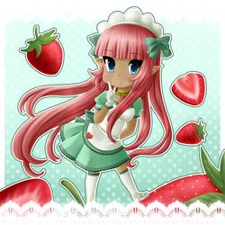Strawberries by Local-Baka