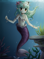 Delphine for MerMay 2018 by Local-Baka