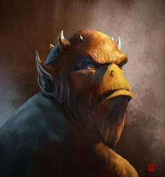 Creature concept by KhasisLieb