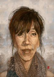 Virginie Lemoine caricature by KhasisLieb