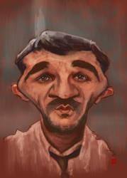 Sebastian BARRIO caricature by KhasisLieb