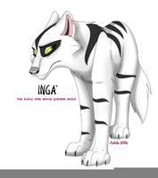 Inga - Black and white by Ochiba