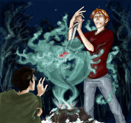 DH: Ron's Horcrux by Forbis