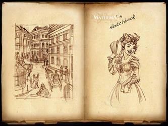 Mathema Sketchbook pg01 by Forbis