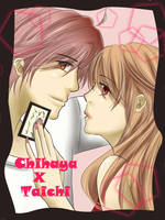 Chihaya and Taichi by Ruminesca
