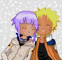 Naruto and Hinata sleeping by Shootingstar1213